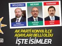 AK Parti Konya ilçe adayları belli oldu (2019)