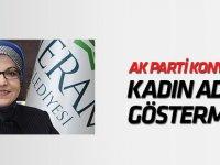 AK Parti Konya'da kadın aday göstermedi!