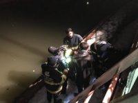 Çaya düştüğü iddia edilen şahıs polis ekiplerini harekete geçirdi