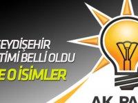 Seydişehir İlçe Teşkilatı belirlendi