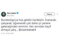 Nuri Şahin'den Ozan Kabak'a tavsiye