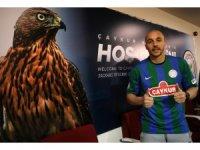 Çaykur Rizespor'da Aatif Chahechouhe tanıtıldı