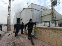 Tanker Fabrikasında Çıkan Yangında, İşçilerin Dikkati Faciayı Önledi