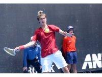 Milli tenisçi Bora Şengül, Avustralya Açık'ta teklerde elendi
