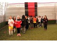 Bitlisli kadınlar ilk antrenmana çıktı