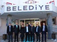 Değirmenci'den Başkan Tutal 'a ziyaret