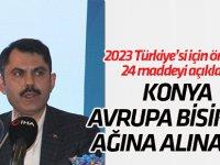 Konya'ya EuroVelo bisiklet ağı