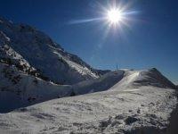 Toros Dağları'nda kar güzelliği