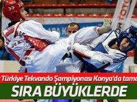 Gençler Türkiye Tekvando Şampiyonası Konya'da tamamlandı
