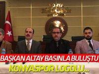 Başkan Altay basın ile bir araya geldi