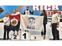 Türkiye Kickboks Turnuvası'nda  Kayserili sporcular madalyaları topladı