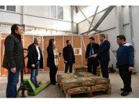 İl Tarım ve Orman Müdürü Bülent Korkmaz Beypazarı'nda