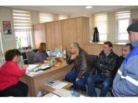 TYP alımlarını duyan vatandaşlar İŞKUR şubesine adeta akın etti