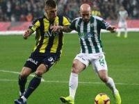 Spor Toto Süper Lig: Bursaspor: 0 - Fenerbahçe: 0