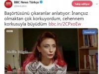 BBC'ye konuşan Melek Bilgili'nin foyası ortaya çıktı