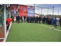 Bozyurt'ta halı saha ve spor tesisi hizmete açıldı