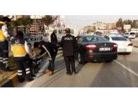 Hatay'da zincirleme kaza: 2 yaralı