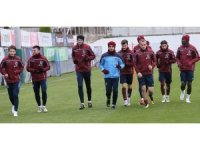 Kupa hazırlıklarını tamamlayan Trabzonspor, Balıkesir'e gitti