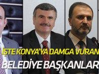 Konya'ya damga vuran belediye başkanları