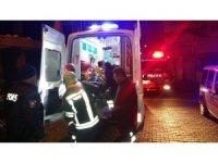 İnşaatın 2. katından düşen adam ağır yaralandı