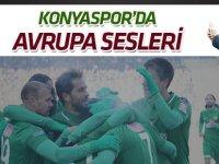 """Konyaspor'da """"Avrupa"""" sesleri"""