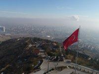 Konya'da sis manzarası