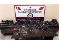 Diyarbakır polisinden silah kaçakçılarına operasyon