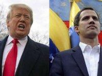 """Venezuela'da Guaido'nun """"geçici devlet başkanlığına"""" uluslararası destek"""