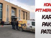 PTT Şubesinde patlama