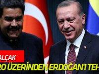 FETÖ'cü alçak, Maduro üzerinden Erdoğan'ı tehdit etti!