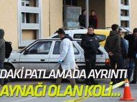 Konya'da PTT Merkezinde İçinde Güç Kaynağı Olan Koli Patladı