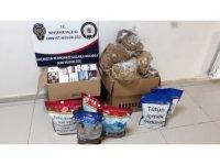 Nevşehir'de 25 kg kaçak tütün ele geçirildi