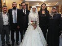 Büşra ile Abdullah evlendi