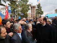 Başkan Altay Sarayönü'de vatandaşlarla buluştu