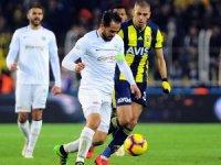 Spor Toto Süper Lig: Fenerbahçe: 1 - Atiker Konyaspor: 1 (Maç sonucu)