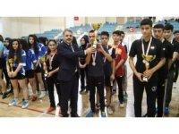 Okullar Arası badminton müsabakaları sona erdi