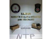 Samsun'da 6 bin 384 uyuşturucu hap ele geçirildi: 2 gözaltı