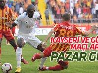 Konyaspor'un Kayserispor ve Göztepe maçları pazar günü