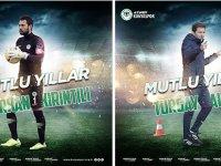 Konyaspor'dan kutlama