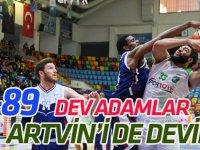 Selçuklu Basketbol: 94- Artvin Belediye:89