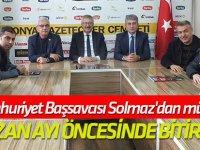 Cumhuriyet Başsavcısı Solmaz'dan müjde: RAMAZAN AYI ÖNCESİNDE BİTİRECEĞİZ