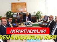 AK Parti adayları resmi başvurusunu yaptı