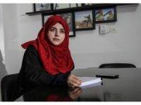 Türk öğrenci Rukiye Gazze'de yüksek lisans yapan ilk yabancı oldu