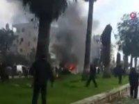 Çok sayıda ölü ve yaralı var İdlib'de bomba yüklü araçlarla saldırı!