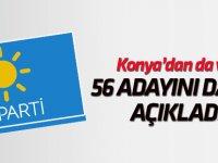 İYİ Parti 56 adayını daha açıkladı
