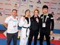 Taekwondoda 3 madalya