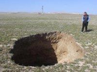 Konya'da üç gün arayla 2 yeni obruk oluştu