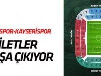 Konyaspor-Kayserispor maçı biletleri satışta