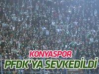 Atiker Konyaspor PFDK'ya sevkedildi