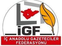 Gazeteciyi Tehdide İGF'den Kınama